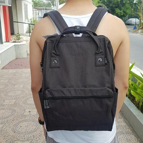 be548a33842c Anello Canvas Backpack - Black