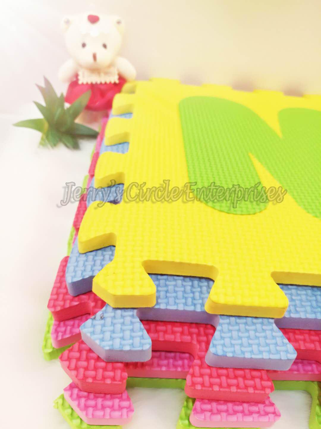 Ptr-2b Letter 30x30 Crawling Mat / Letters Design 30x30 Puzzle Mat 10 In 1 Jce By Baby Centre By Jce.