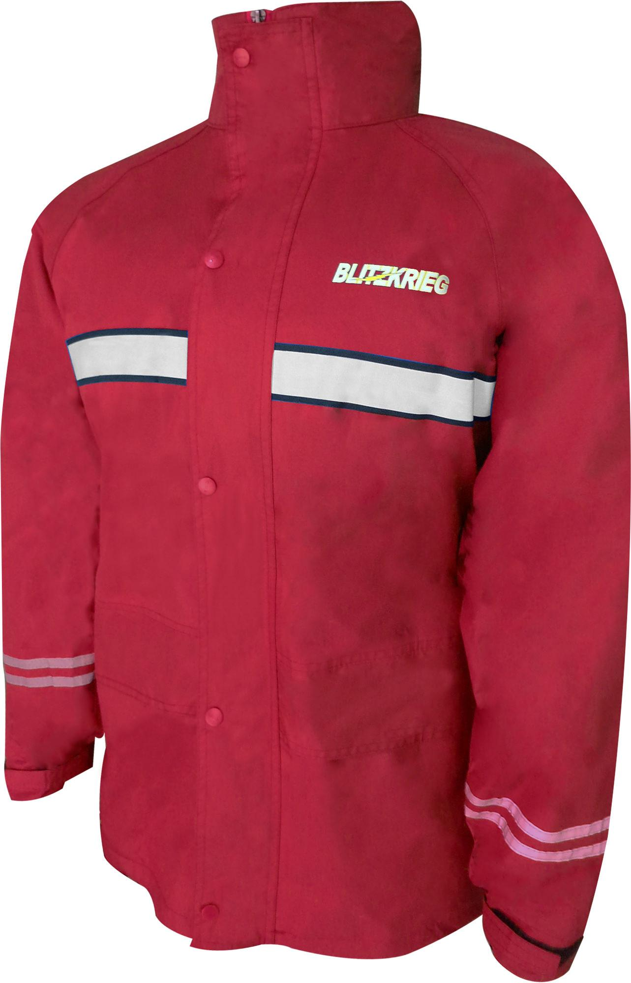 Blitzkrieg® MJ-Series MJ-07 Motorcycle Ultra Durable RainCoat & Jacket Set With