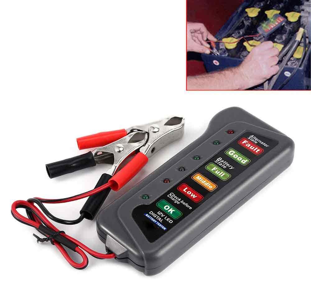 Car Battery Tester For Sale Load Online Brands Wiring Diagram New Motorcycle 12v Alternator Diagnostic Tool With 6 Led Digital Display12v T16897