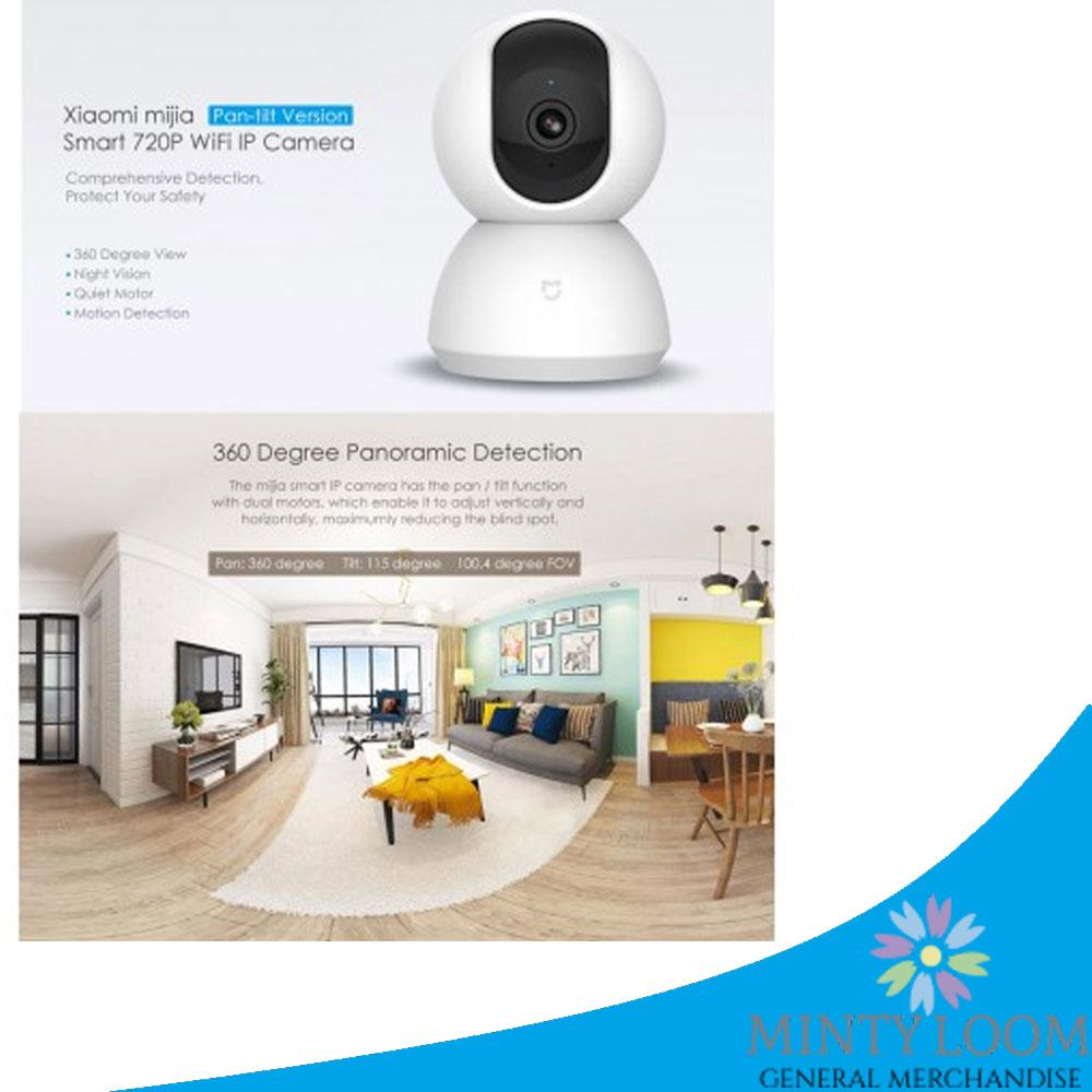 Buy Sell Cheapest Xiaomi Yi Ip Best Quality Product Deals Original Dome 720p Camera International Version White Mijia Pan Tilt Smart Wifi Mi Cctv