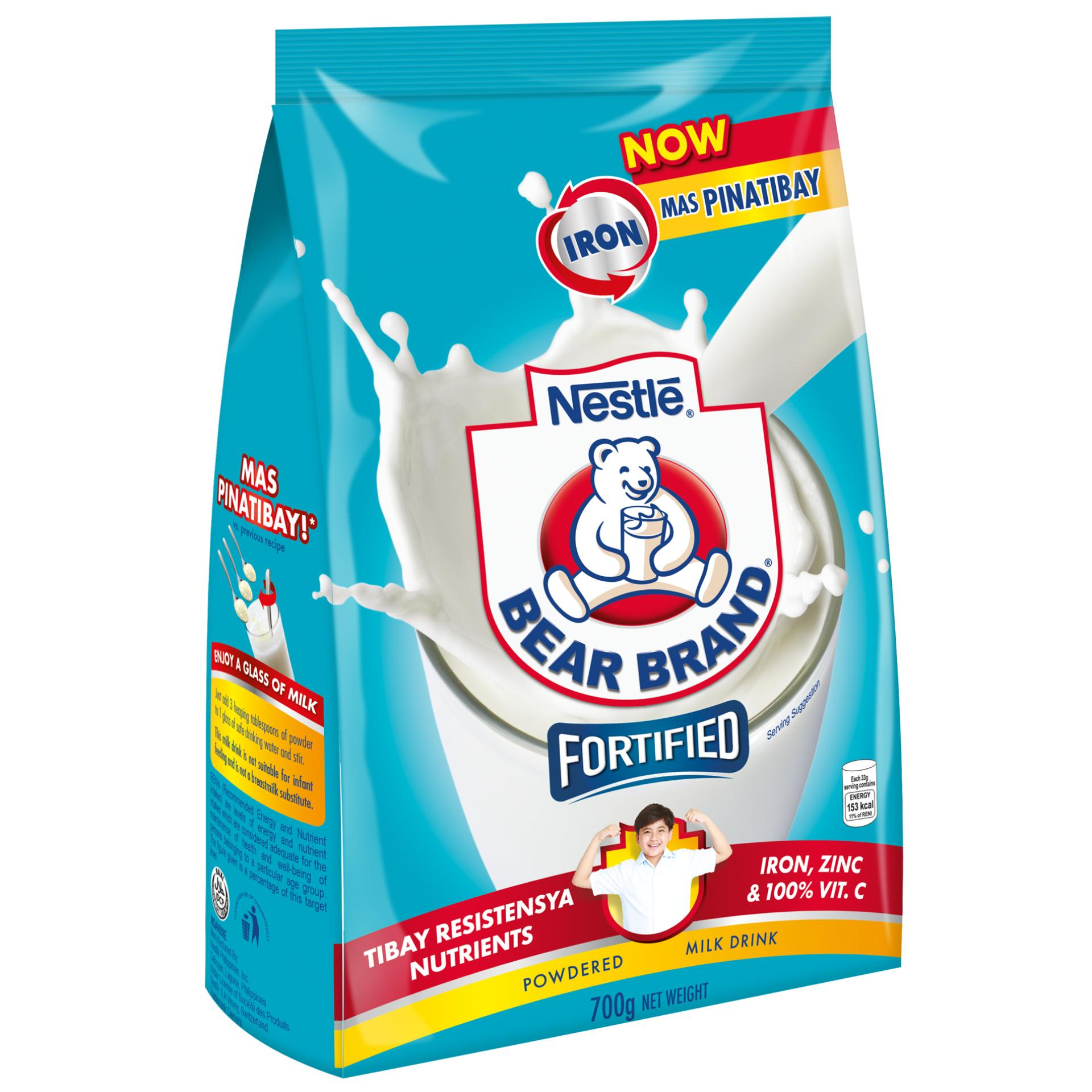 Bear Brand Powdered Milk Drink 700g By Nestle Official Store.