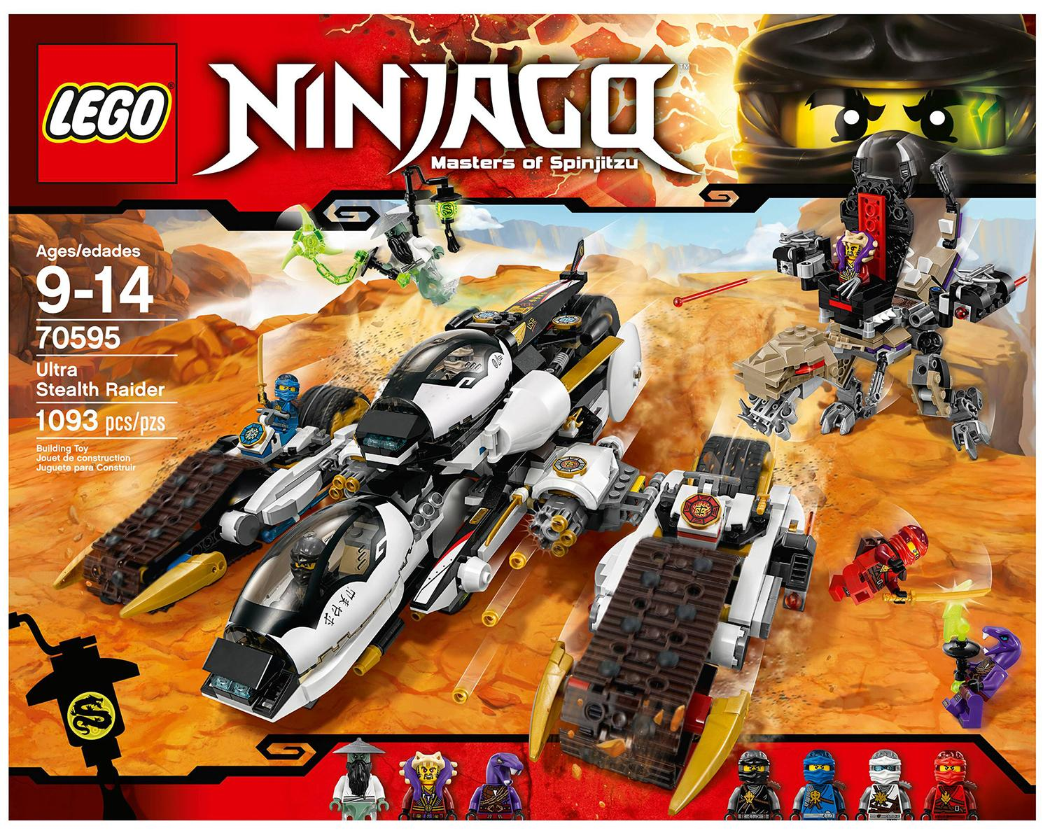 Buy Sell Cheapest Lego Ninjago Misfortune Best Quality Product 70605 Misfortunes Keep Ultra Stealth Raider