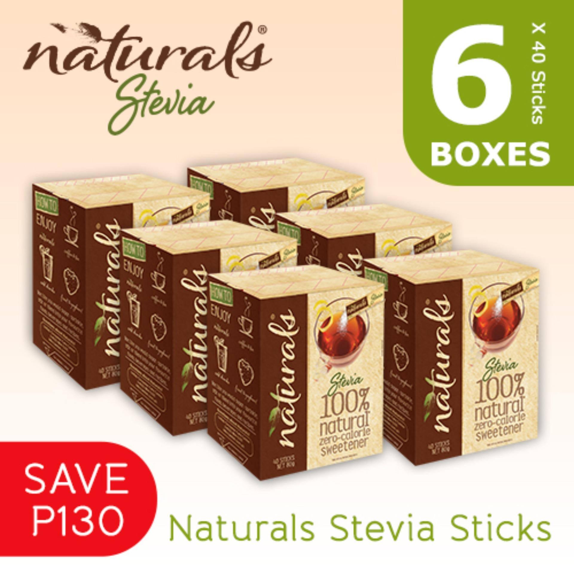 Naturals Stevia Philippines Price List Sweetener Tropicana Slim Zero Calorie 40 Sticks Value Pack 6 Boxes X
