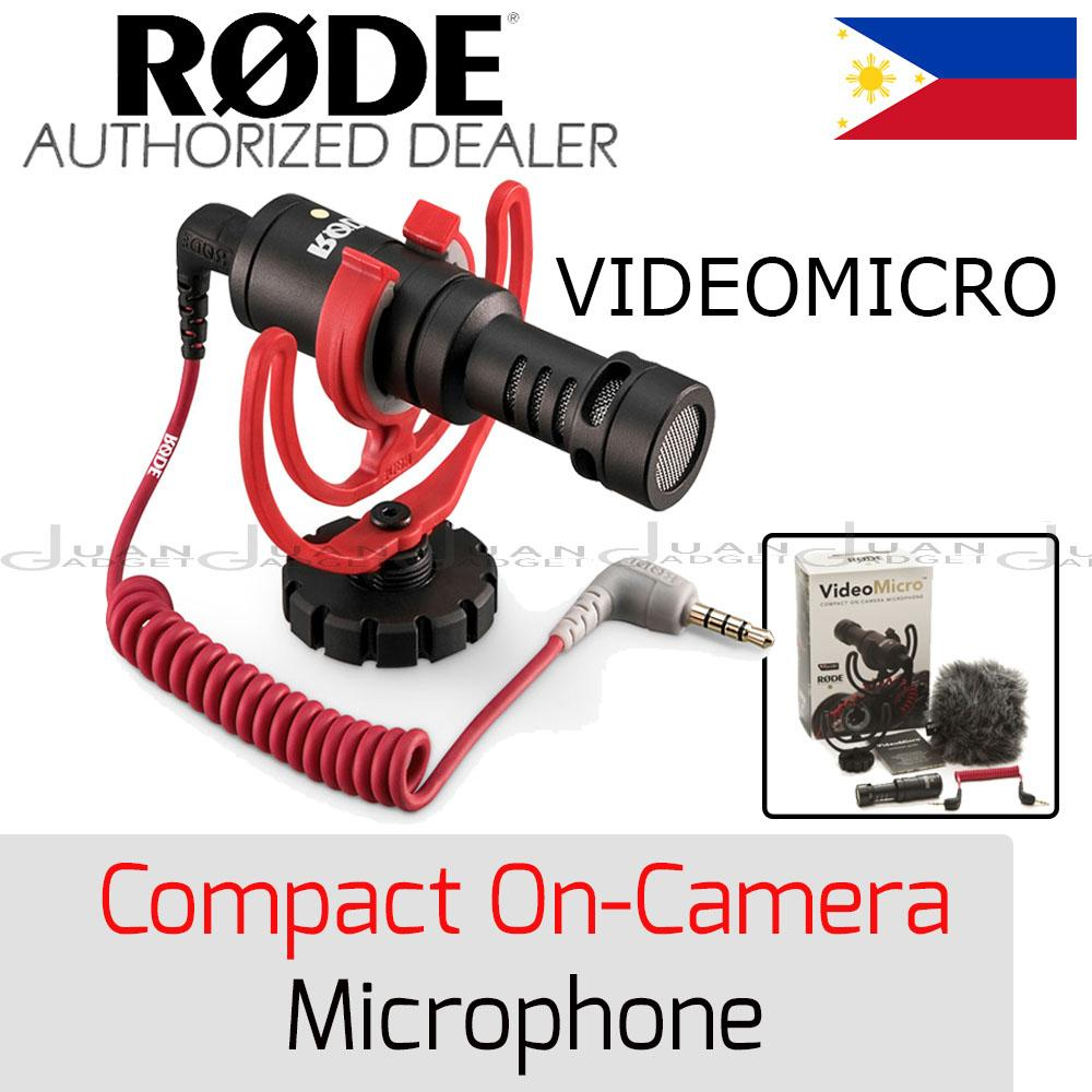Rode Philippines Price List Microphone For Sale Lazada Mic Videomicro Video Micro Compact On Camera