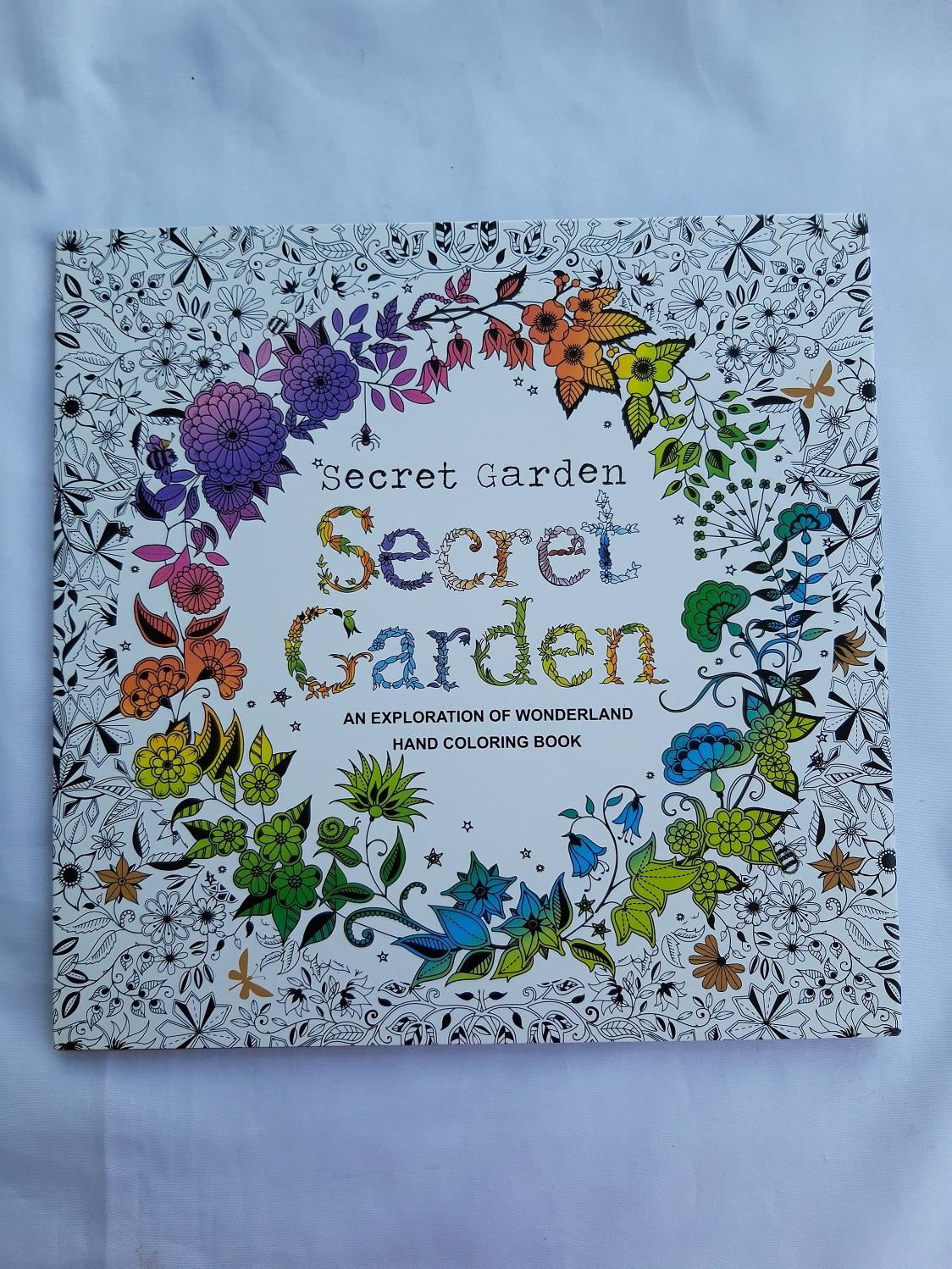 Philippines SecretGarden Adult Coloring Book