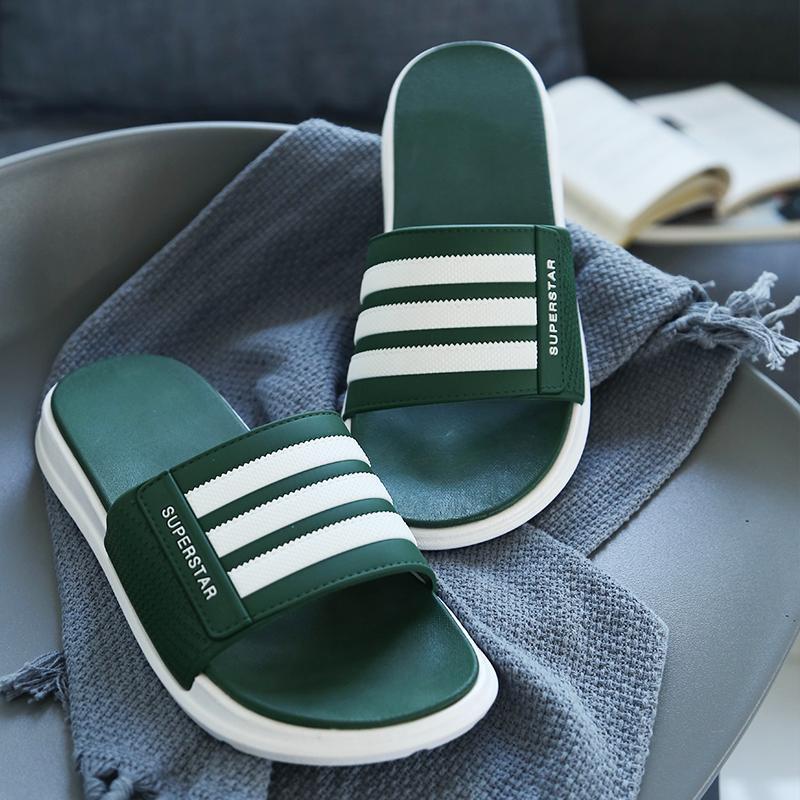 a106a2b6cc503 2018 New Style Slipper man Summer Anti-slip Soft Bottom Sandals Men Thick  Bottomed Summer
