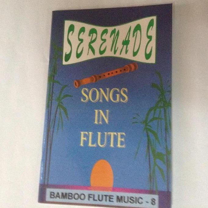 Kingflute Serenade Music Book 8 (blue) By Bamboo Instruments And Bamboo Products.