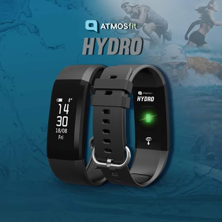 Atmosfit Hydro Waterproof With Heart Rate And Sms Notification By Shaarii Shaarii Store.