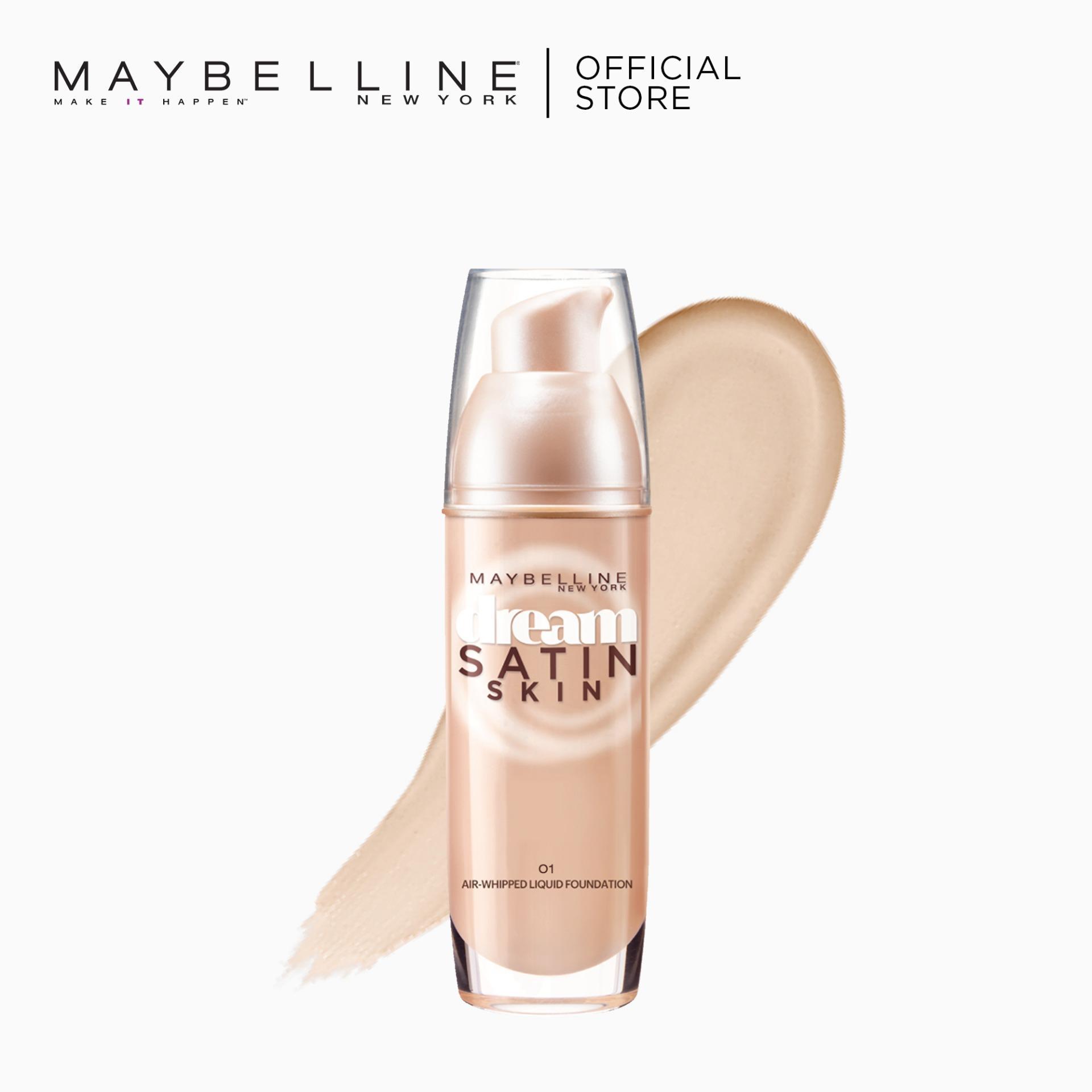 Maybelline Dream Satin Skin Liquid Foundation 30 mL - O1 Philippines