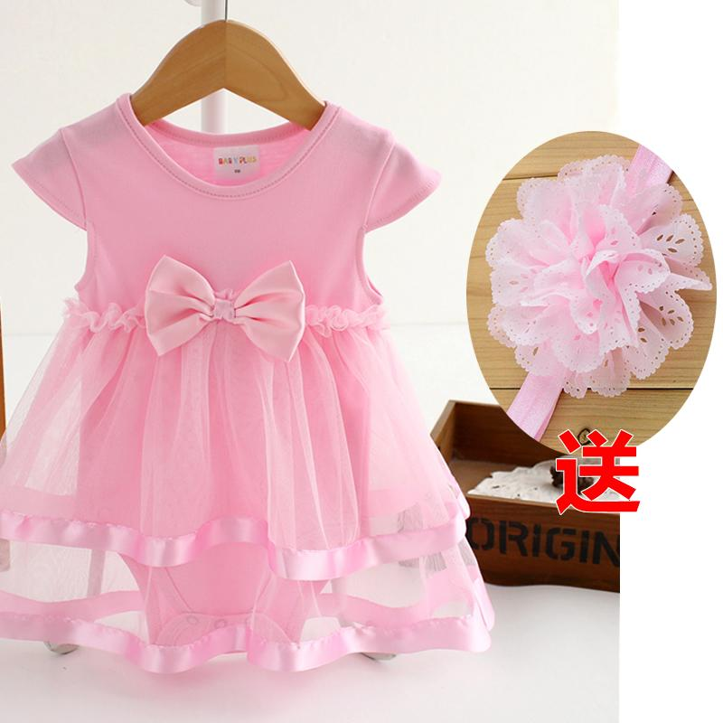 71667dfa61797 Spring Clothing Clothes for Babies women Baby Long-sleeved Triangle Romper  Princess dress for women