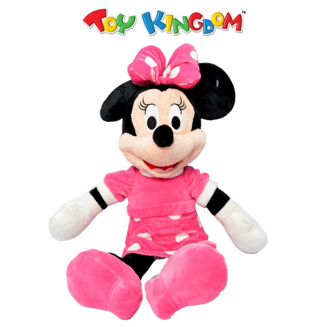 Disney Minnie Mouse 14-inch Plush Pink