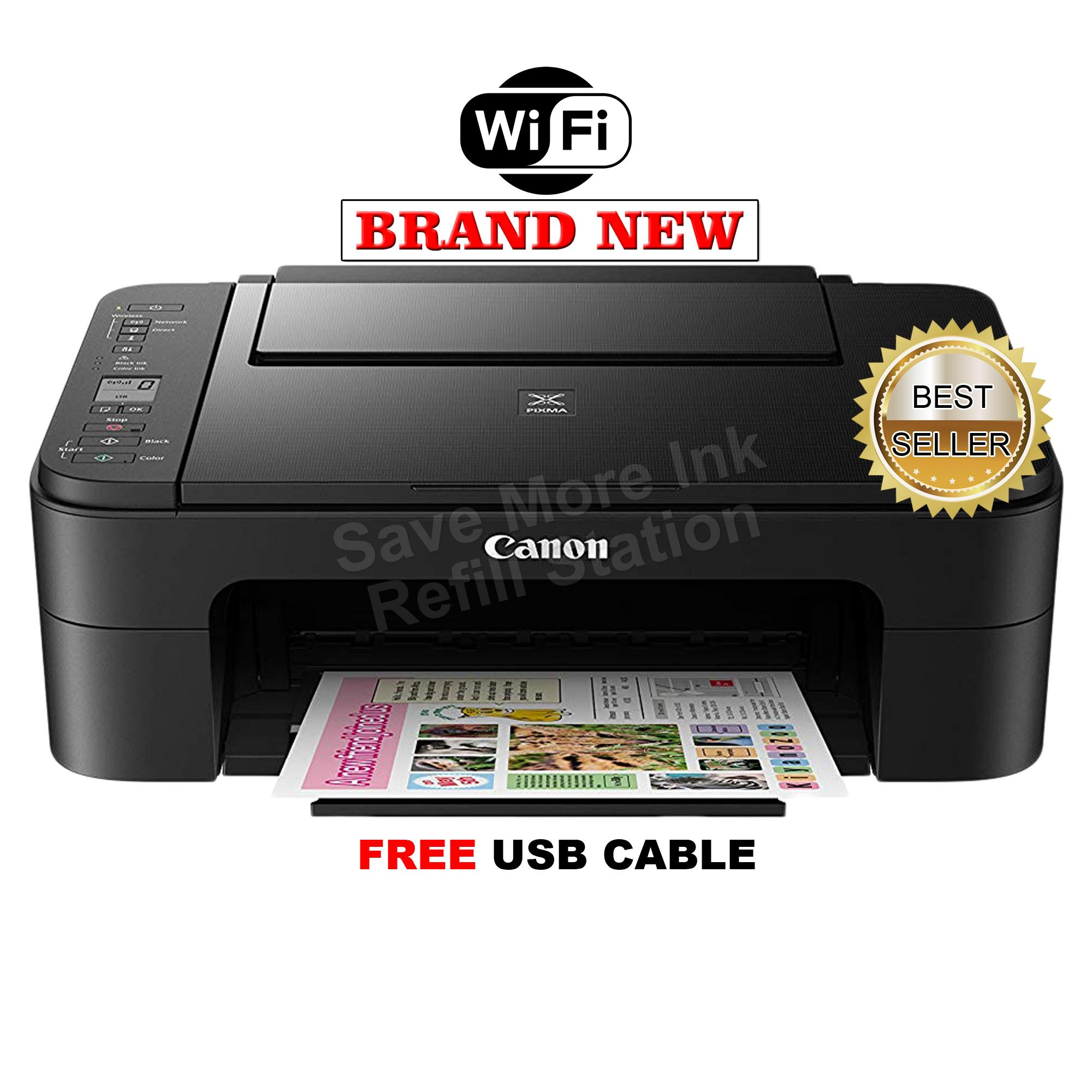 Canon pixma ts3160 print scan copy wi fi inkjet printer