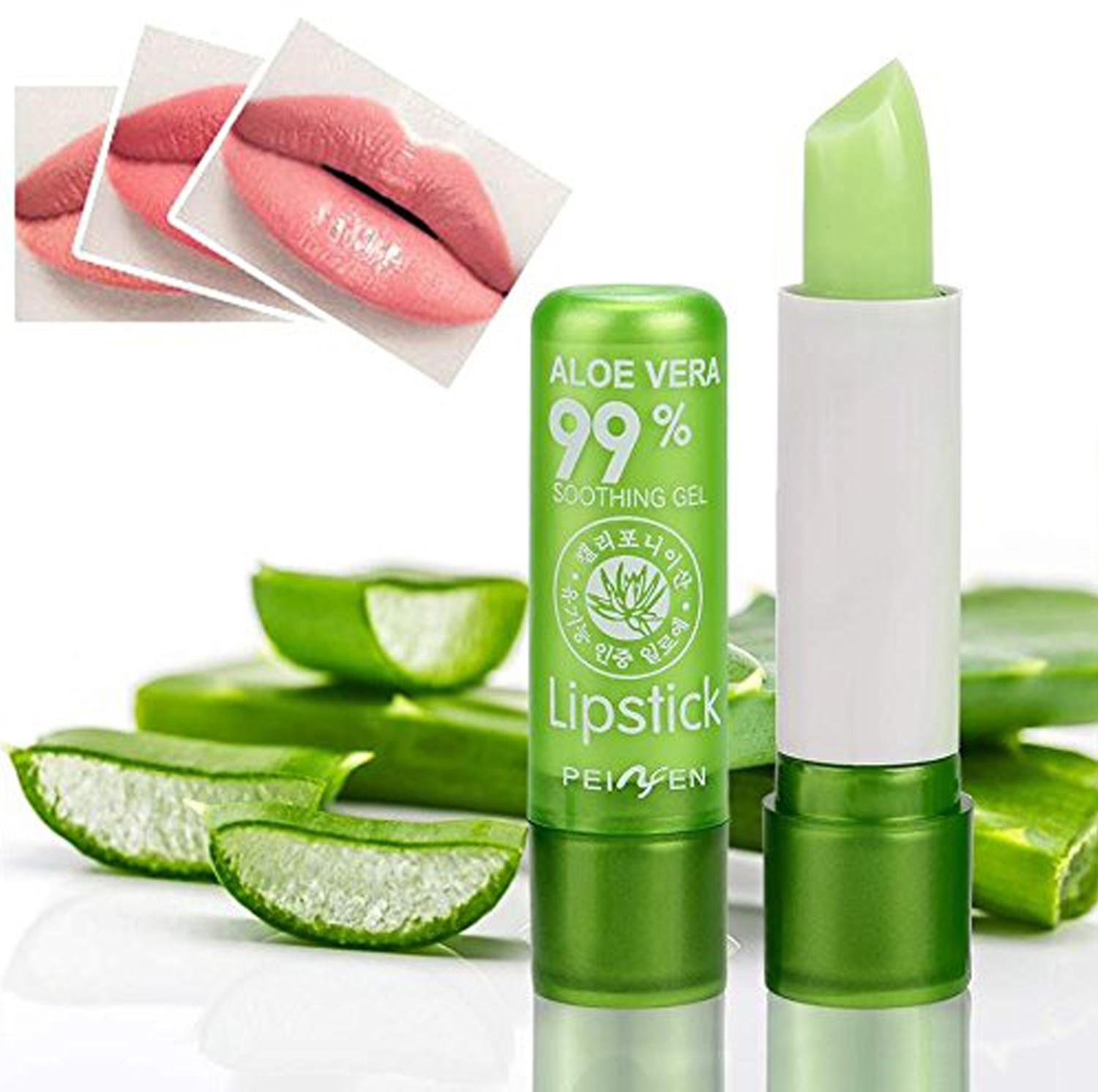 Aloe Vera Long Lasting Moisturizing Lipstick Tint Aloe Gel Philippines