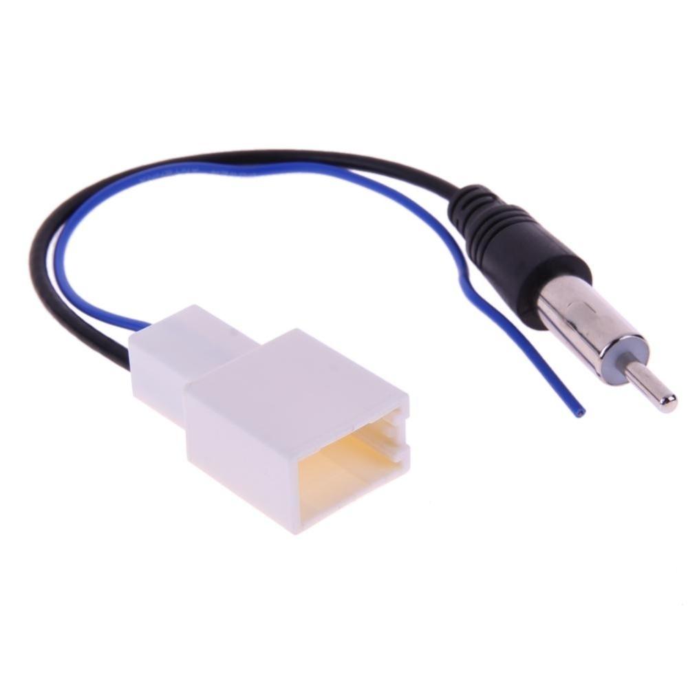 Plastic Male Auto CD Radio Aerial ANTENNA Plug Repair Adapter Connector Durable
