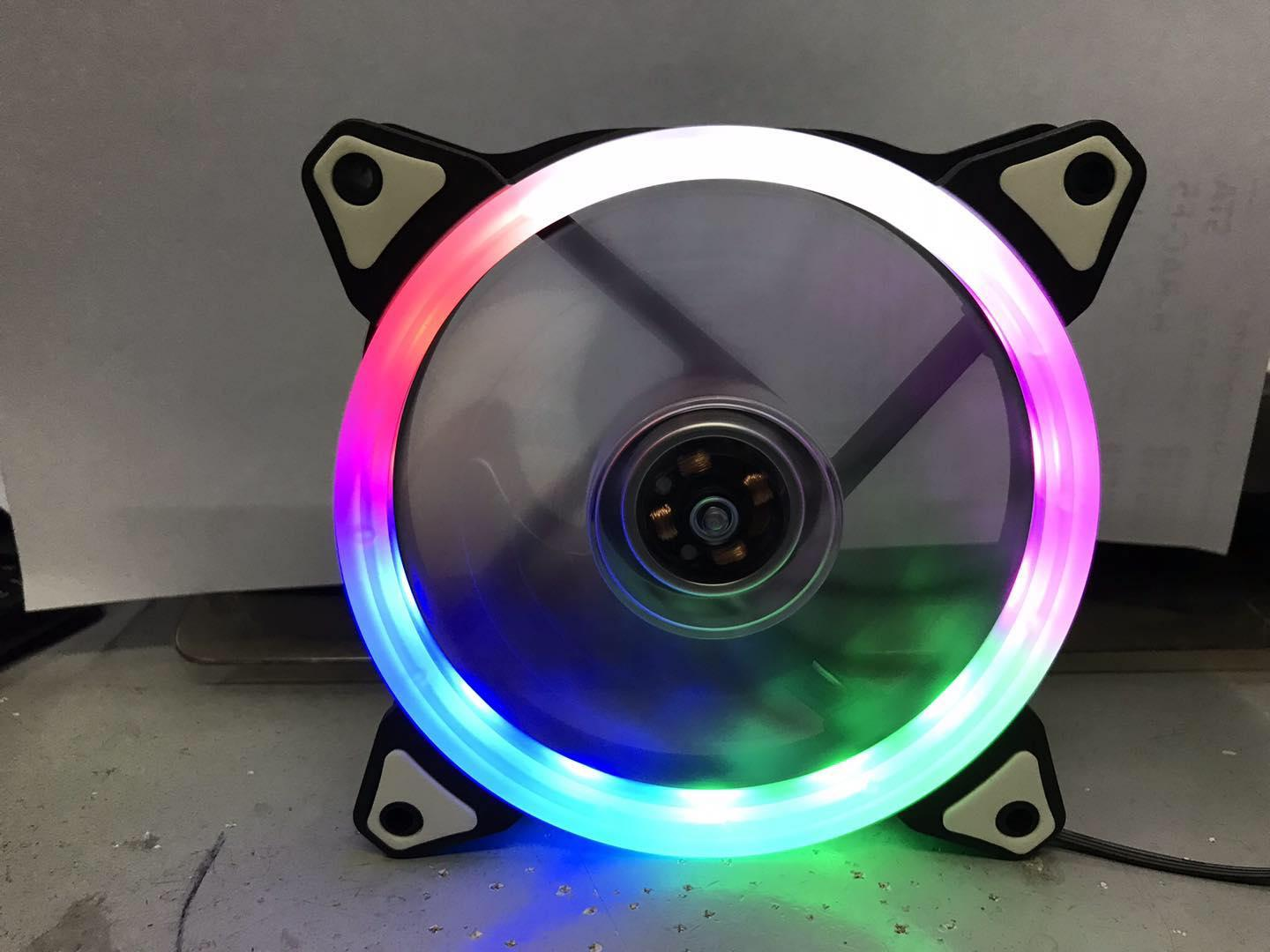 Kingbao 5 Color Led Ring 120mm Pc Case Fan By Kingbao.