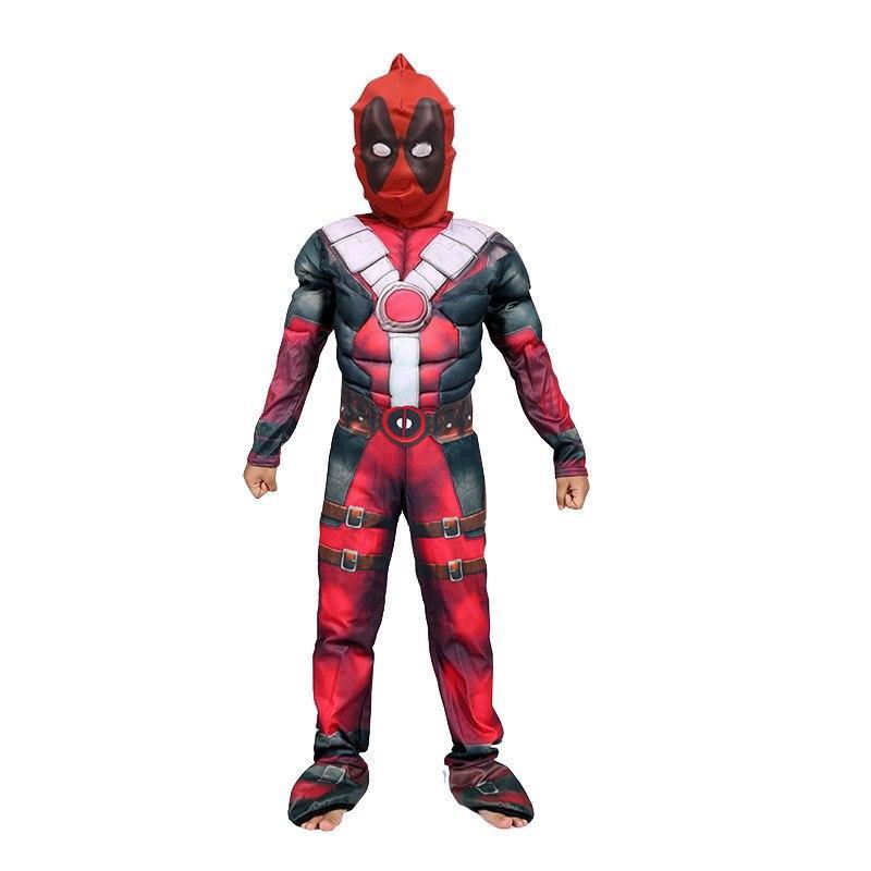 Compre Nuevo Deadpool Cosplay Disfraz De Halloween Para Niños Impresión 3d Muscle Boys Disfraces De Deadpool Fiesta Traje De Carnaval A 12 16 Del Zffz Es Dhgate Com