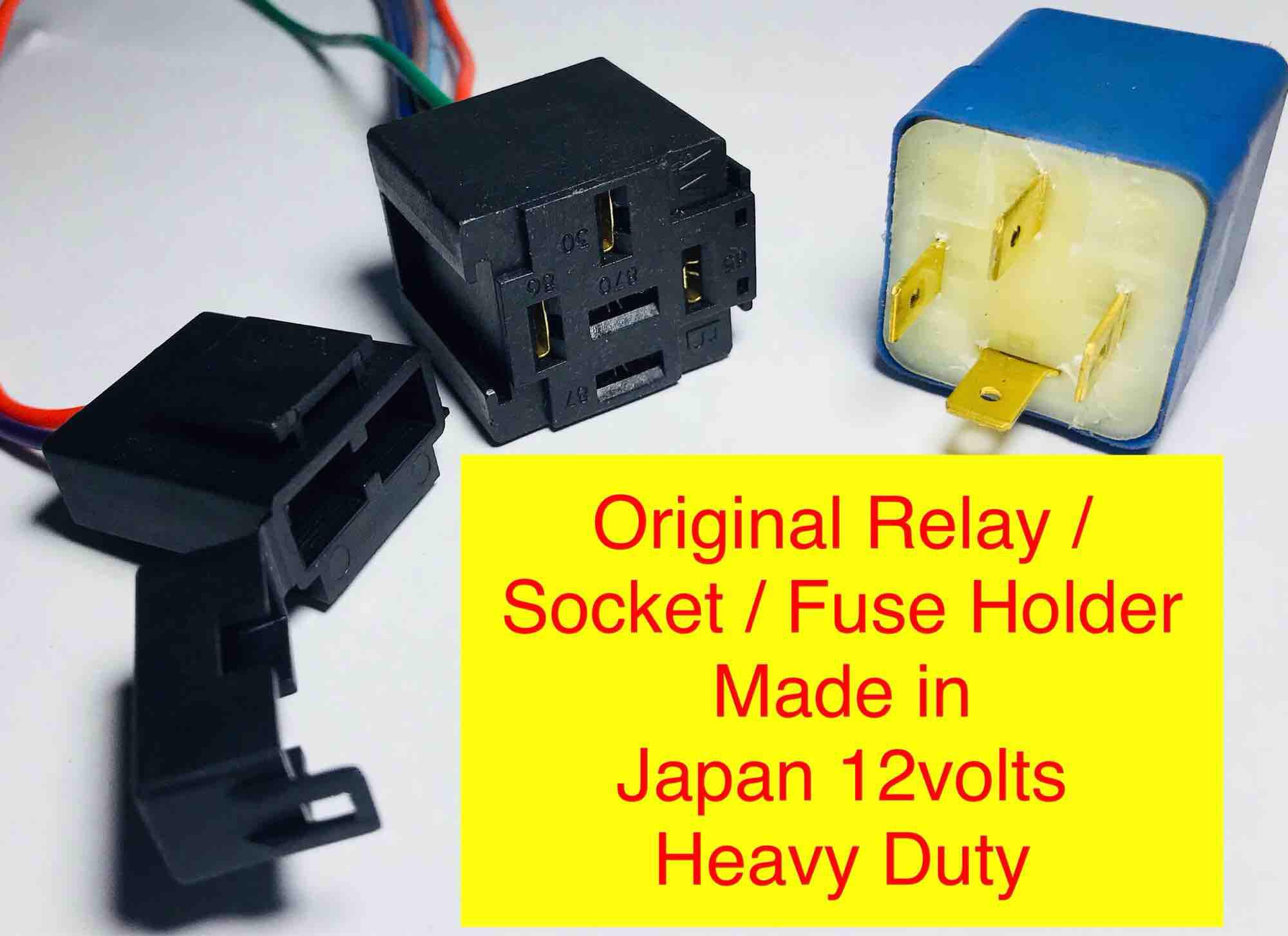 Car Relays For Sale Automotive Online Brands Prices Negative Trigger Fog Light Relay Wiring Diagram Auto 12v Socket Fuse Holder Like Bosch Original Universal