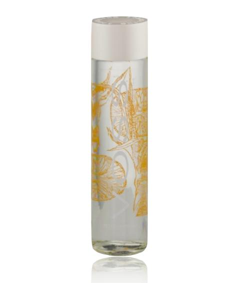 Voss Sparkling Tangerine Lemongrass Artesian Water From Norway 375ml By Yumspot.