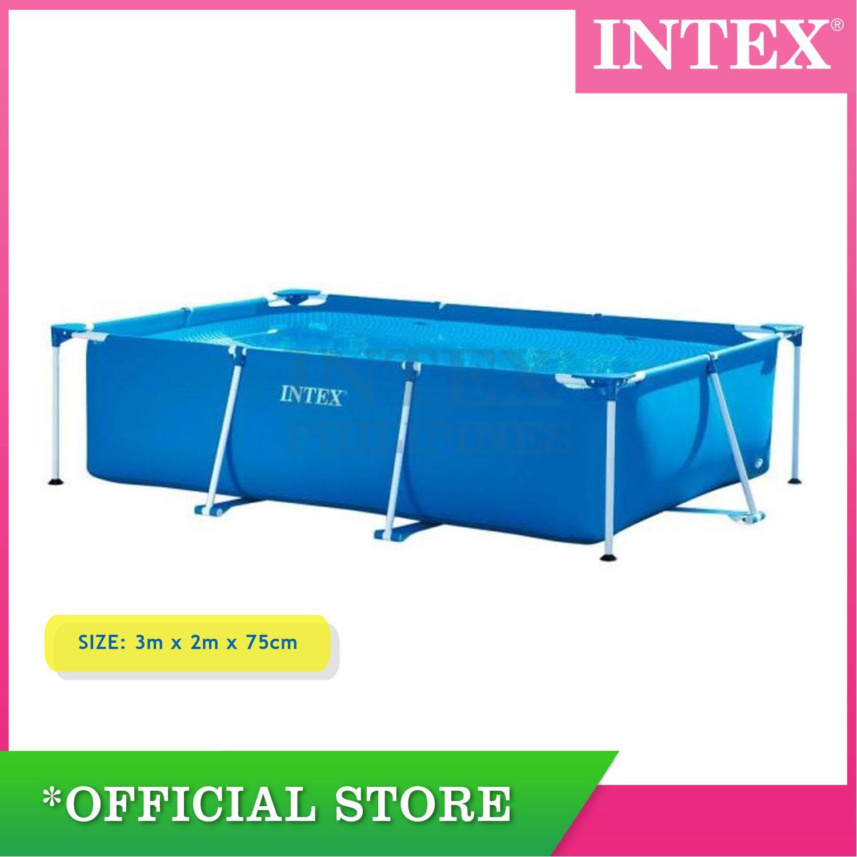 Intex Rectangular Frame Pool 3.00M x 2.00M x 75CM
