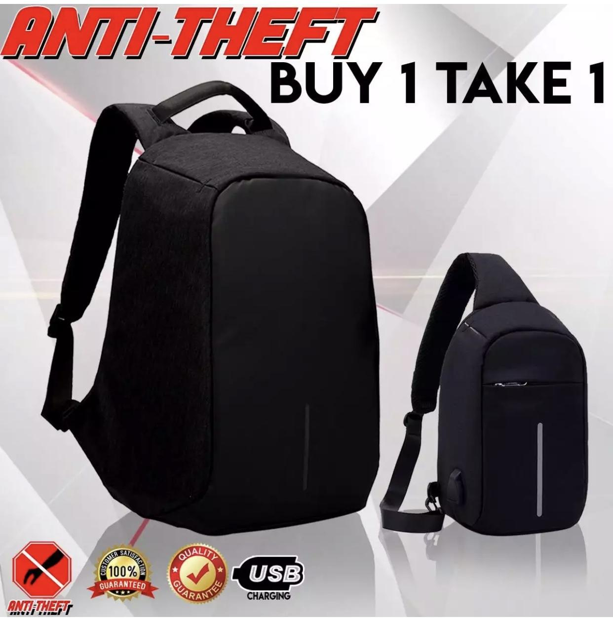 #110(Lager) Free #119(Small) Travel Anti Theft Backpack and