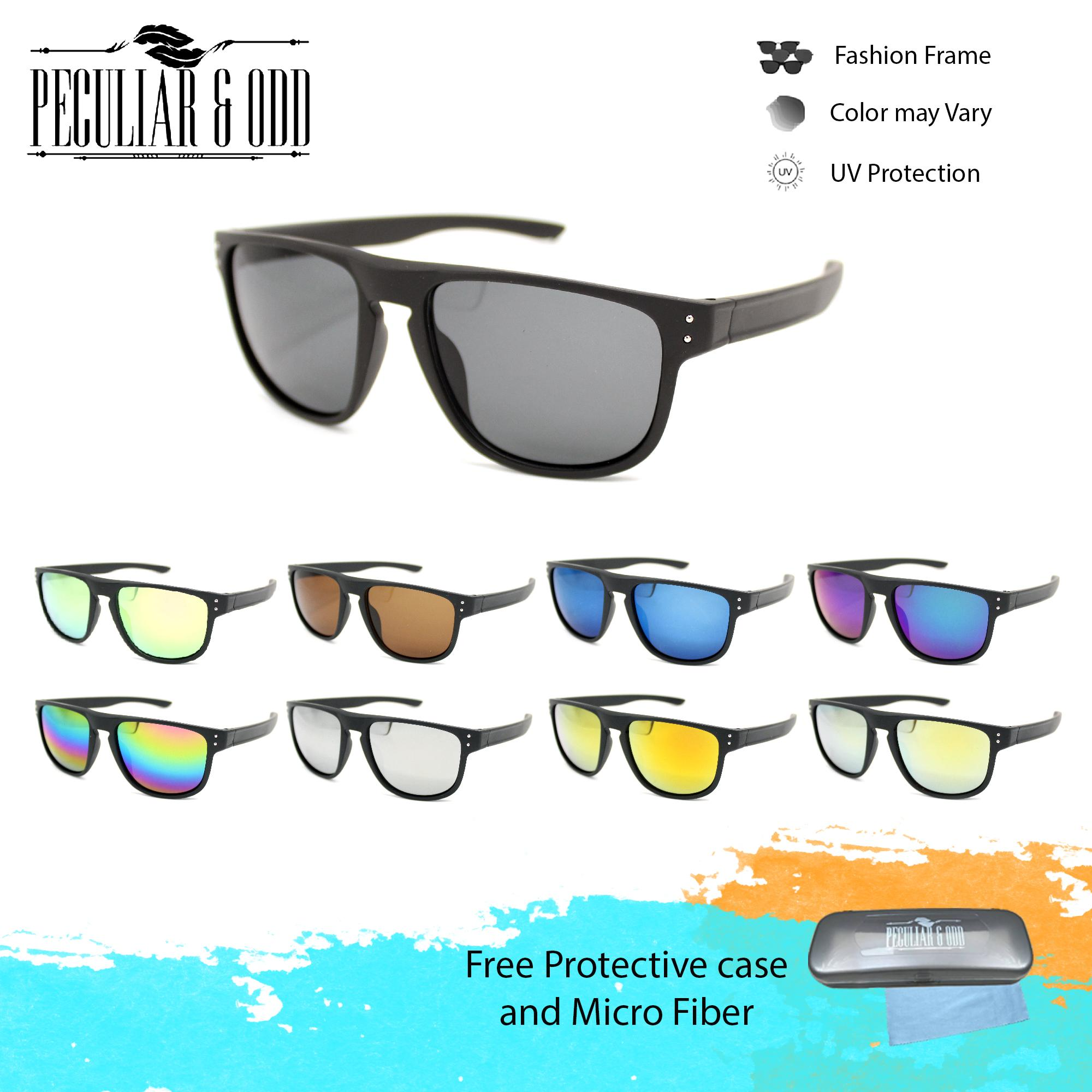 0728be5a3b Peculiar Classic 2520 Unisex UV Protection Full Rim Sunglasses