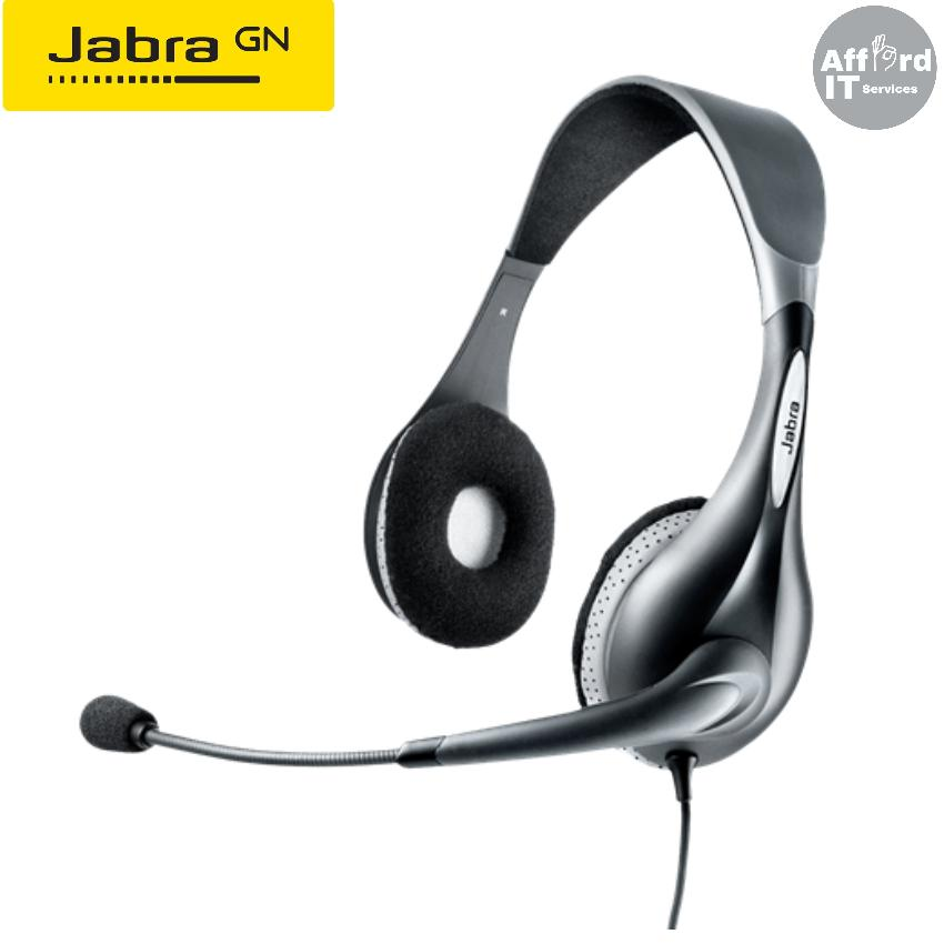 0327b365263 Jabra UC VOICE 150 Duo USB Headset with Noise Cancelling Microphone (Part  No. 1599