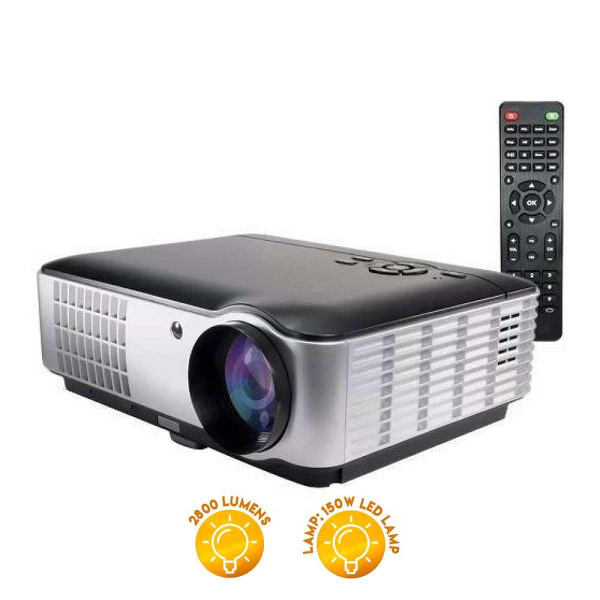 Unic Philippines Price List Projectors For Sale Lazada Proyektor Uc40 Led Mini Rd 806 Hd 2800 Lumens Projector Black