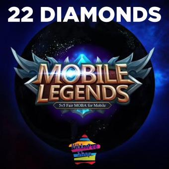 MOBILE LEGENDS 22 DIAMONDS