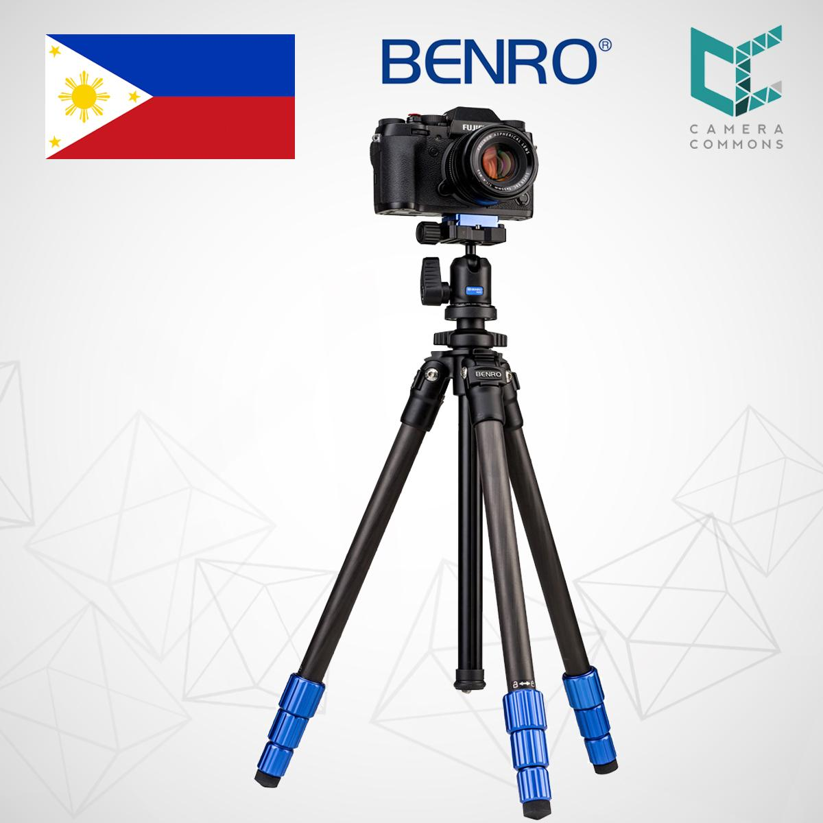 Benro Tripods Philippines Camera For Sale Prices A1883fs2c Aero 2 Video Travel Angel Tripod Tsl08cn00 Slim Carbon Fiber With Ball Head