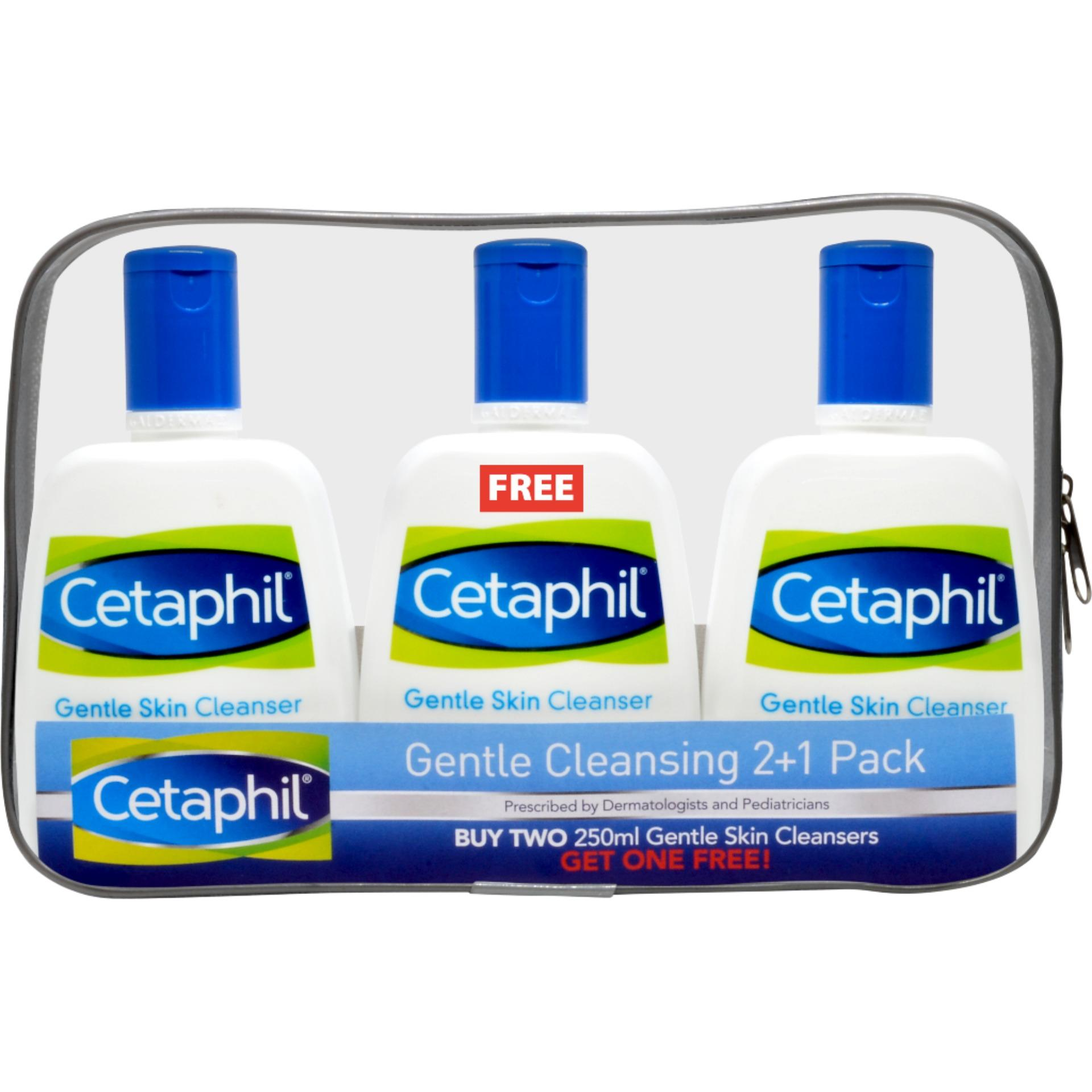 Latest Cetaphil Products Up To 70 Off Lazada Philippines Gentle Skin Cleanser 500 Ml 250ml Promo Pack