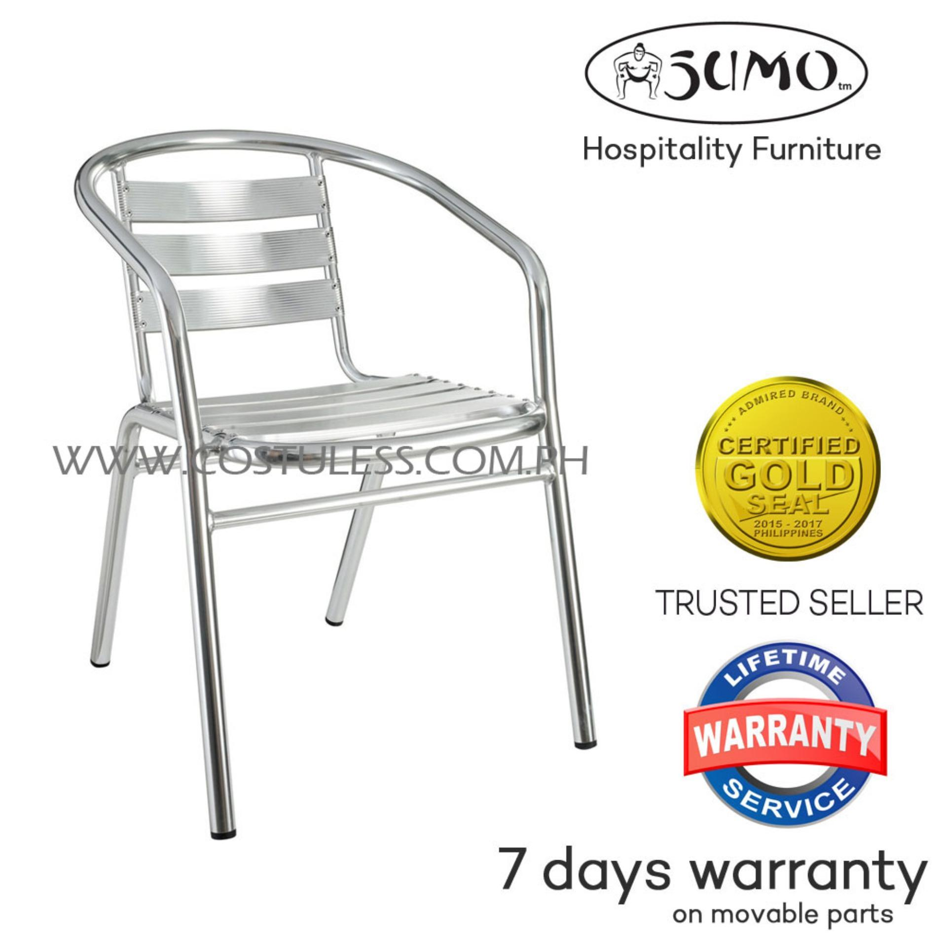aluminum chairs philippines bcasa philippines sumo aca103dlx deluxe aluminum outdoor chair silver lounge for sale set prices brands review