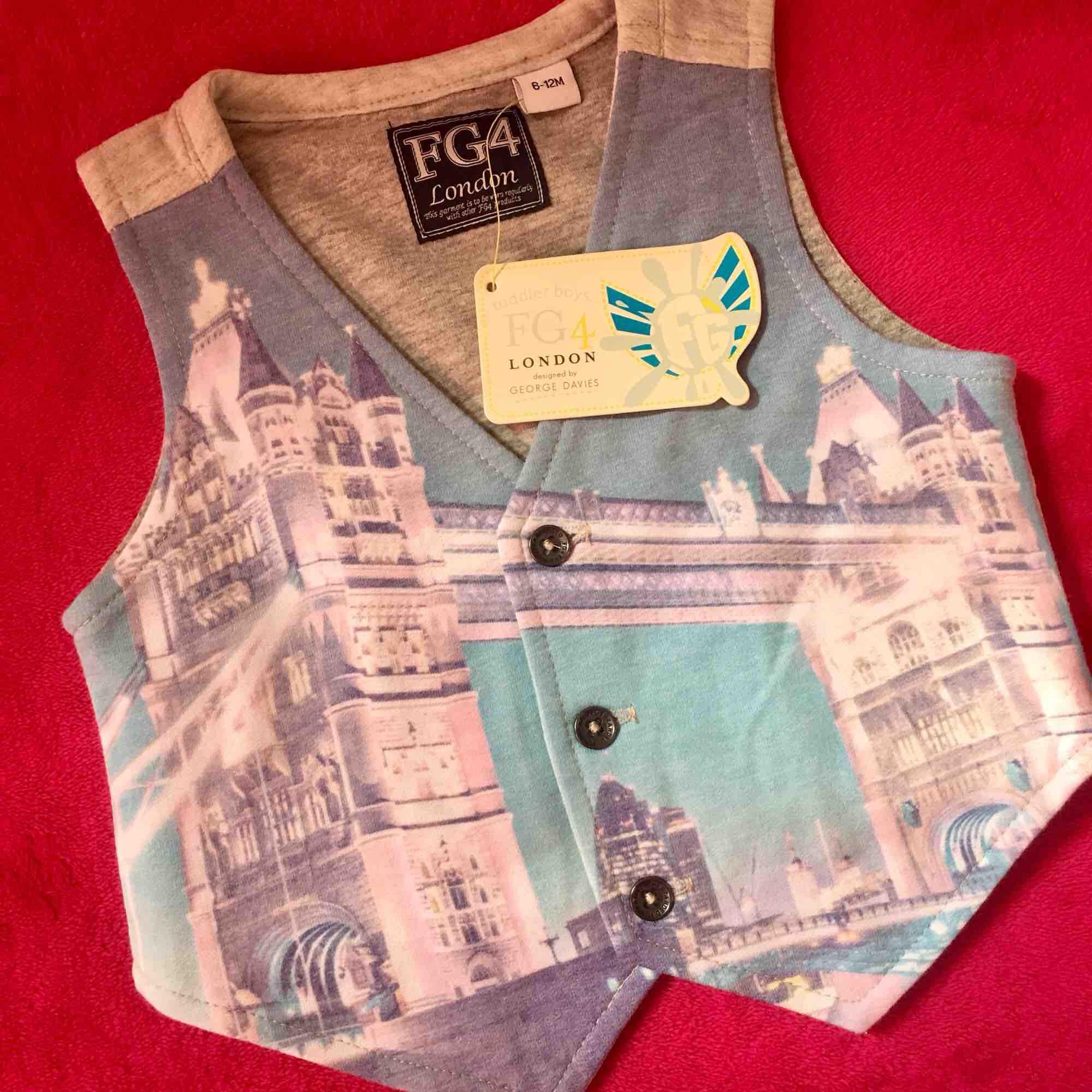 Fg4 Baby Waistcoat By La Rasha Fashion House.
