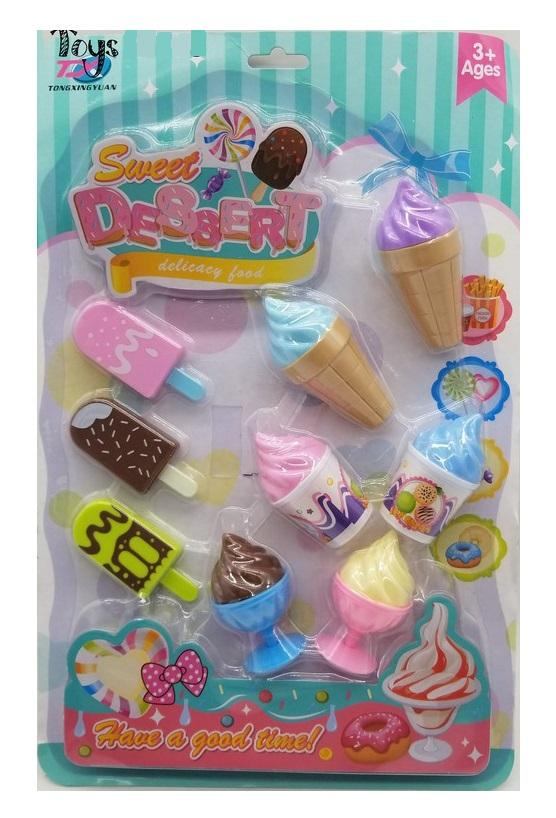 Sweet Dessert Ice Pop And Ice Cream Set Toy By Mikatech Marketing.
