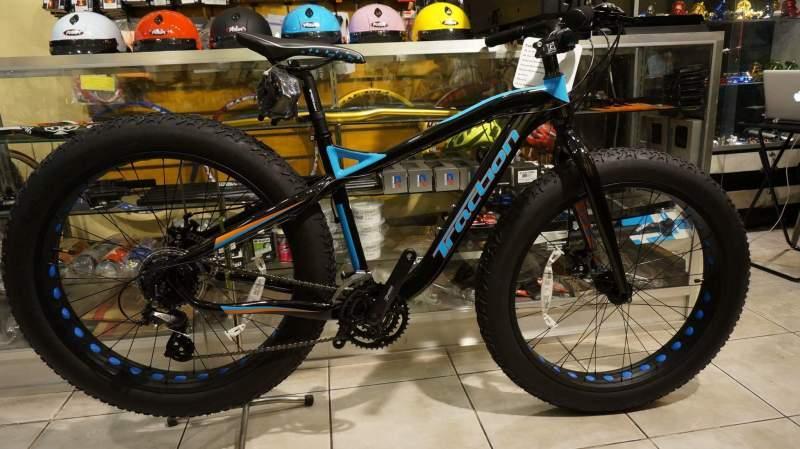 Traction Fattie Fat Bike (blue) By Bike Haus.