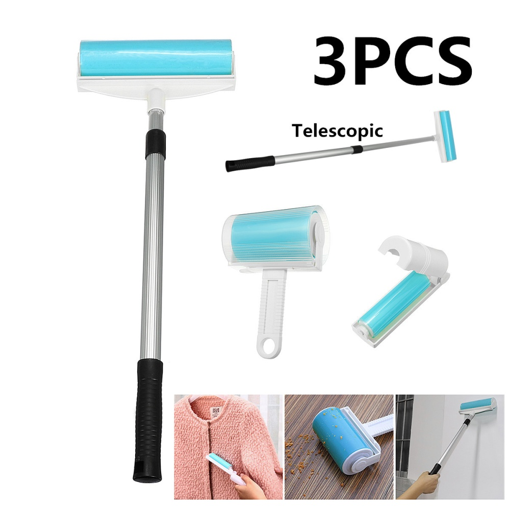 -3 x Removers Features: -Reusable, washable lint roller ...