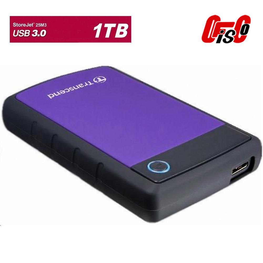 Buy Sell Cheapest Transcend Storejet 25m3g Best Quality Product Hardisk Eksternal 1 Tb 25h30 Ts1tsj25h3p Hard Drive Usb 30
