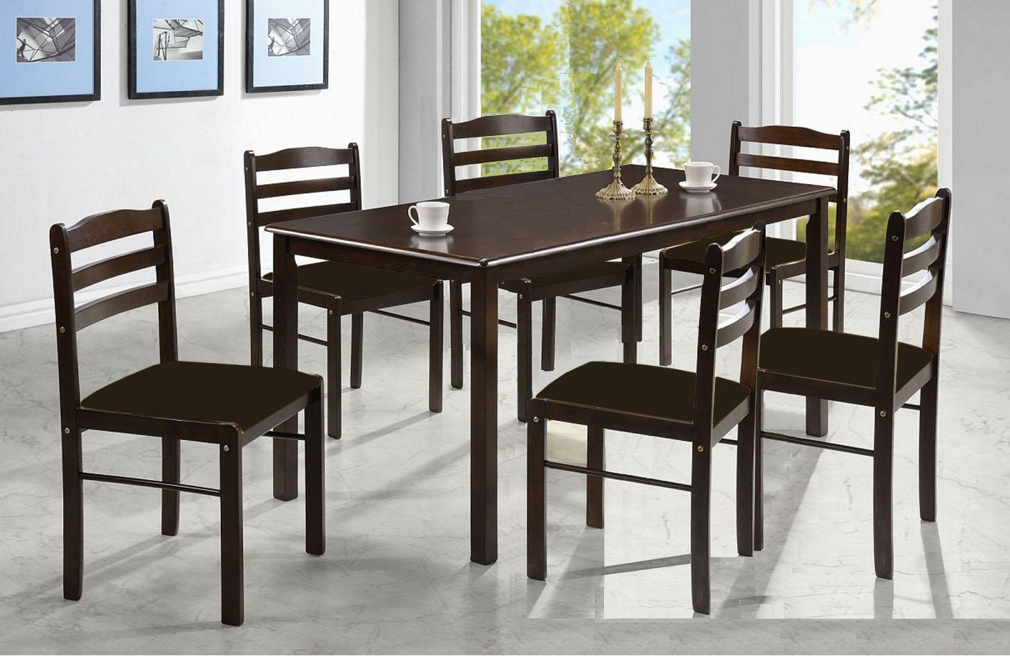 Philippines. ihome-CB Camel Back 6 s Dinning Set (Wood Seat) 1381f4c056