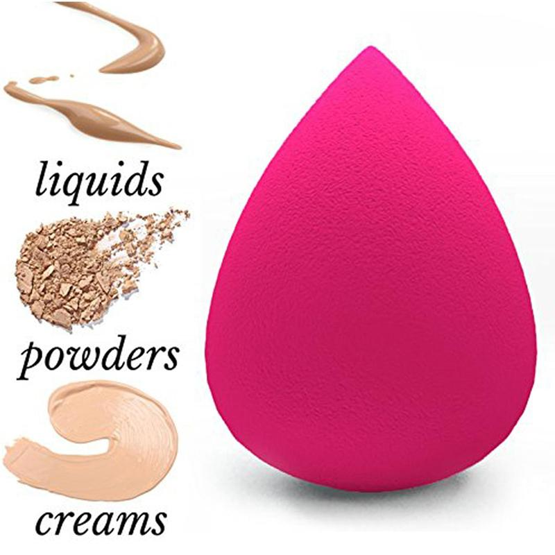 Foundation Beauty Blender Sponge Egg Shape Foam (Fuchsia Pink) Philippines