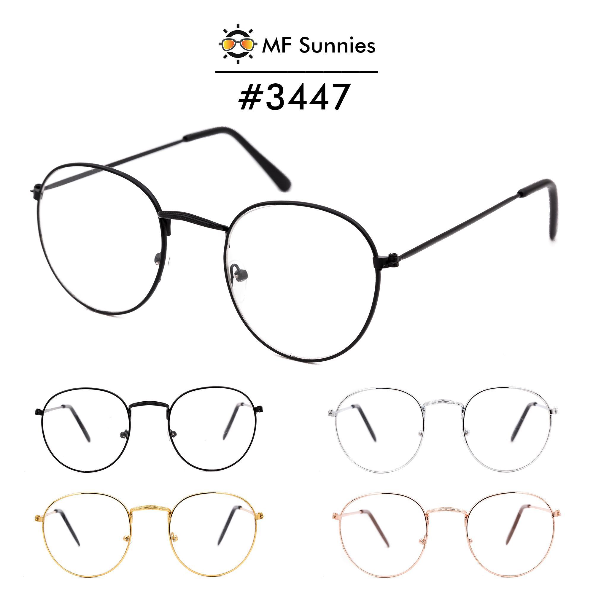 35714e5e95f MFSunnies Anti Radiation  Metal Optical Frame korean fashion eyewear metal  hinges  3447C