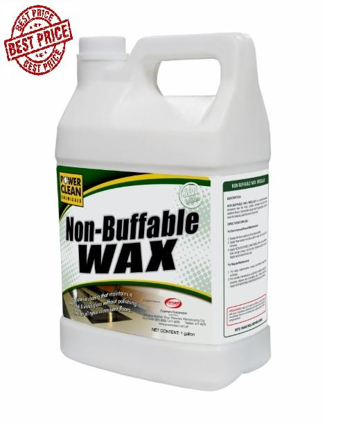Best Price Concentrated Non-Buffable Floor Wax Polish 1 Gallon Shine Non Buffable 4 Liter By Pocket Savers.