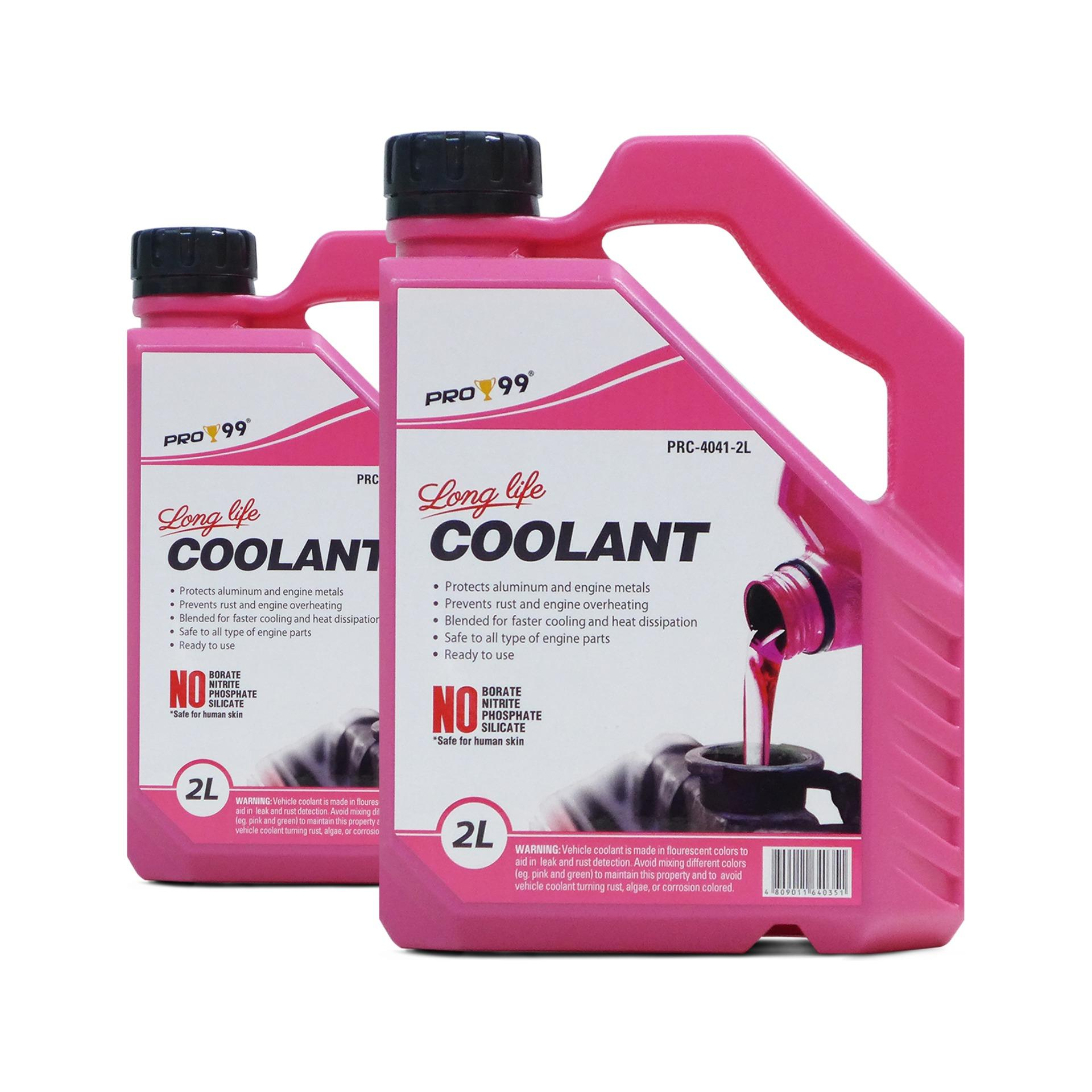 PRO-99 Long Life Radiator Coolant (Pink) 2L PRC-4041-2, pack of 2