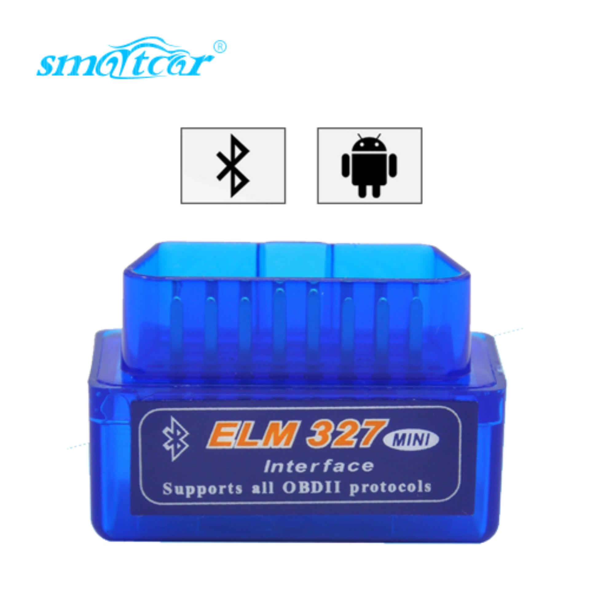 Super Mini Elm 327 Bluetooth Obd Ii Obd 2 Works On Android Torque By Smartcar.