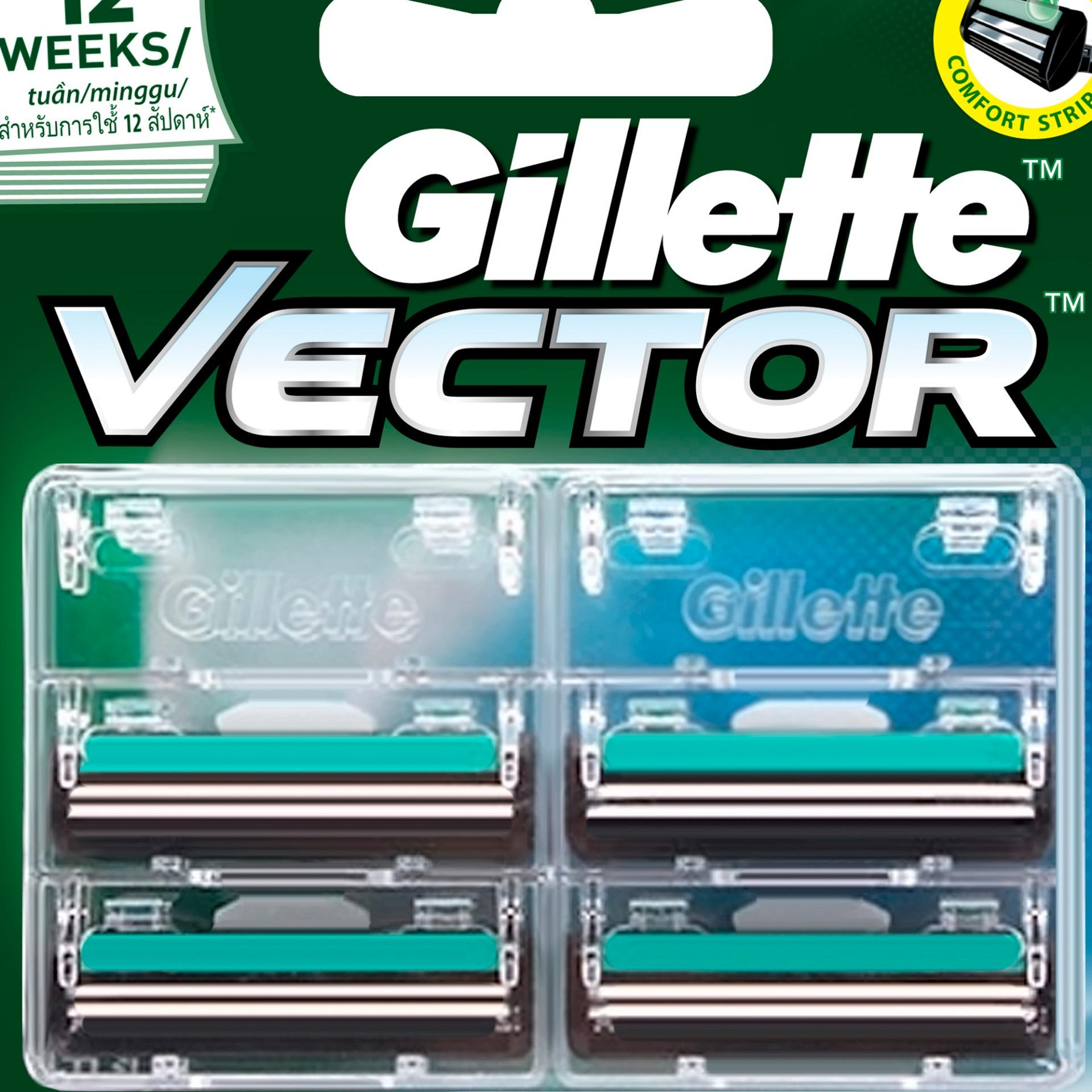 GILLETTE VECTOR REFILL 4S Philippines