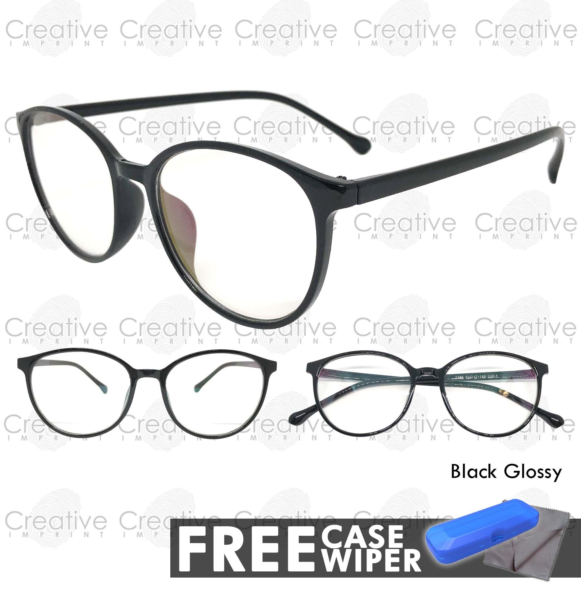 f9e9369349 Creative Imprint Eyeglasses Anti-Radiation Lens ( 05 Black Glossy)  Anti-Fatigue
