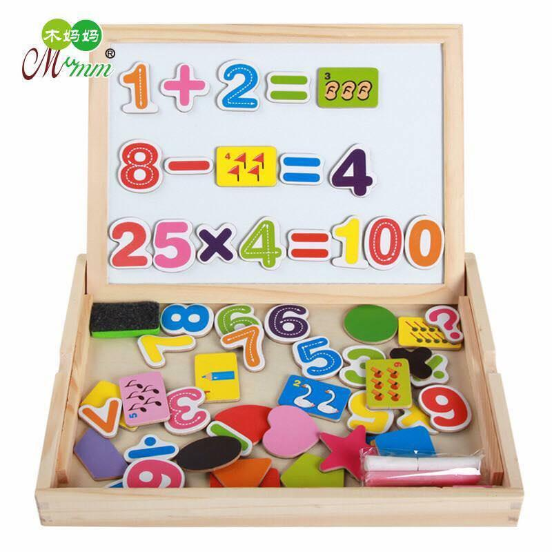 Numbers Math Double-Sided Magnet Drawing Board For Baby Early Education By Best Store Best Buys.