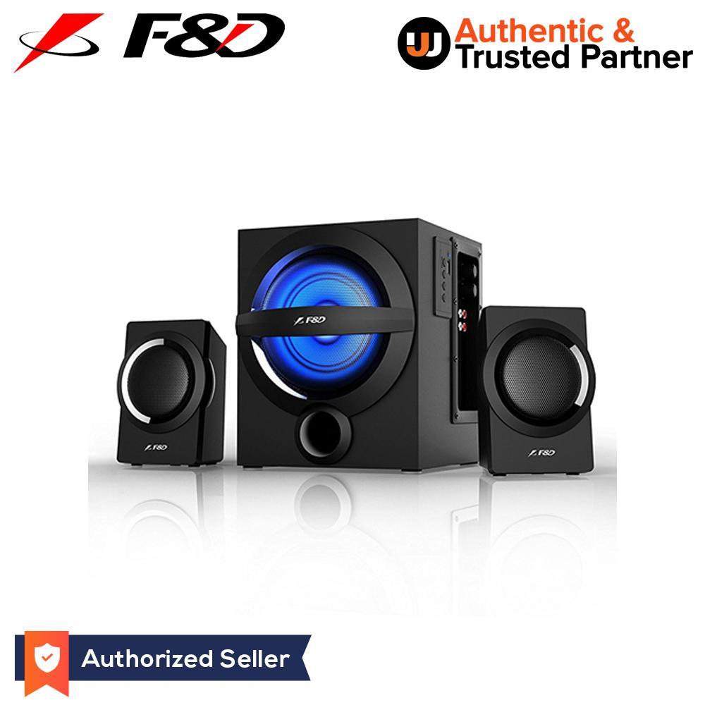 F&D A140X RGB Lighting Multimedia Bluetooth Speakers