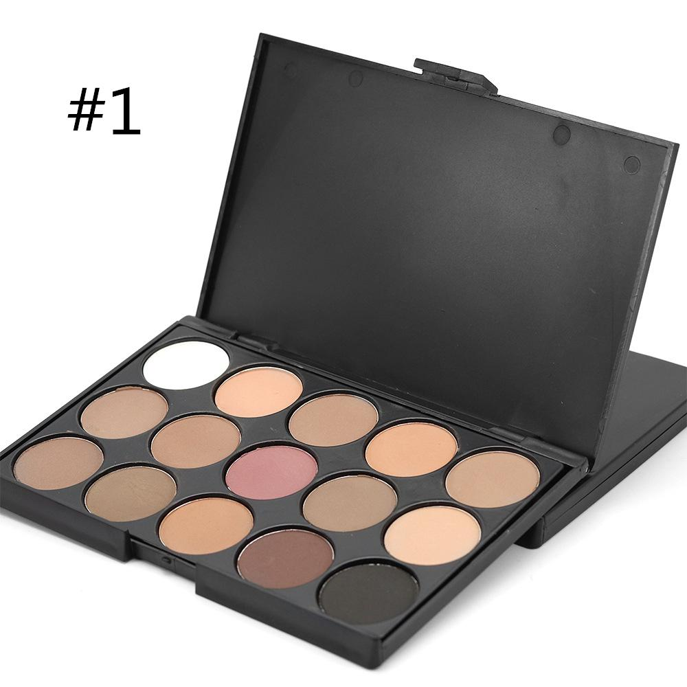 15 Colors Eyeshadow Makeup Palette (#1 Matte) Philippines
