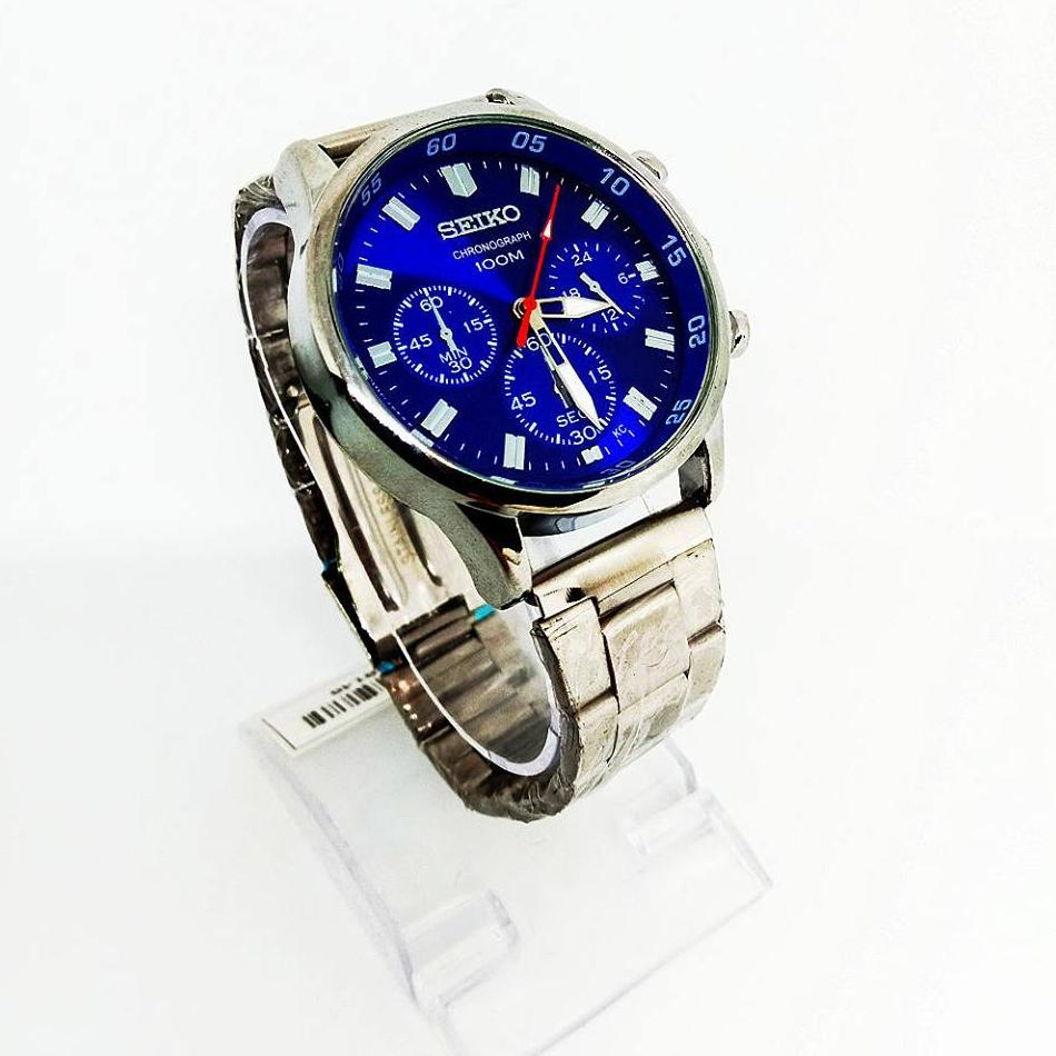 Seiko Philippines Watches For Men Sale Prices Skx007k2 Automatic Divers 200m Black Dial Blue Stainless Steel Mens Watch Silver
