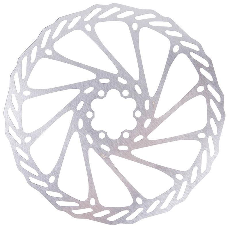 7a183110070 Bicycle MTB Mountain Bike Stainless Steel Brake Disc Rotor 203mm with 6  Bolts Rotor, 203mm